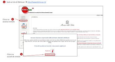 Accesso Da Remoto Alle Risorse Per Utenti Già Registrati